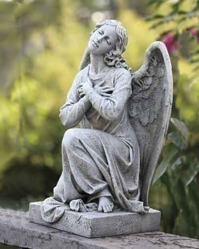 Adoration Kneeling Angel Statue