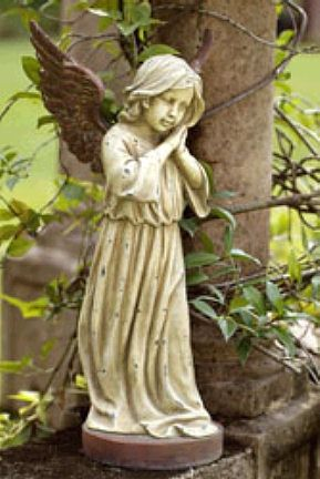 Little Angel Girl Statue