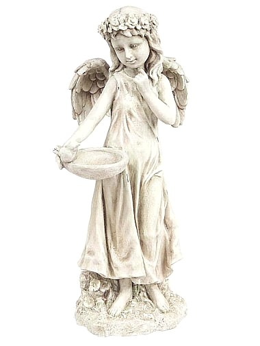 Angel Girl Bird Feeder