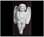Little Angel Boy Sculpture from Italy