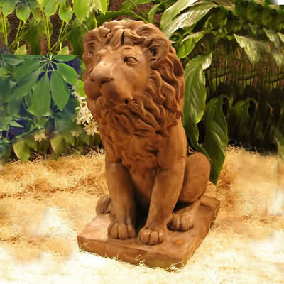 King of the Beast Lion Statue