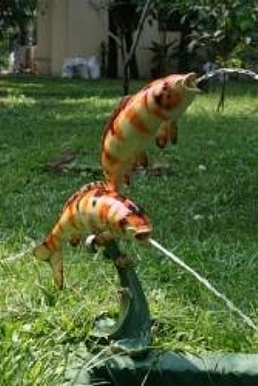 Koi Fountain Spitters