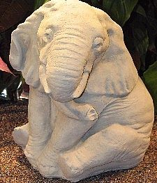 Wally the Sitting Elephant Statue
