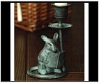Studious Mouse Candle Holder