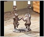 Merry Go Round Bear Candle Holder