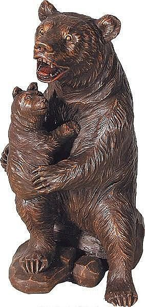 Baby Bear's Protector Statue