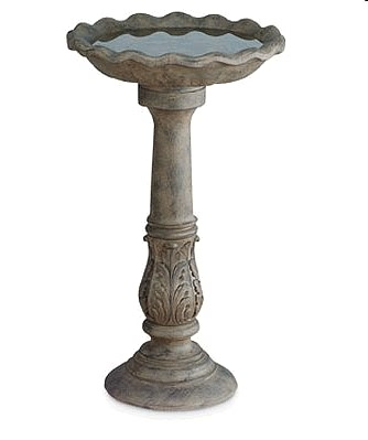 Acanthus Bird Bath