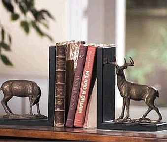 Wildlife Deer Bookends