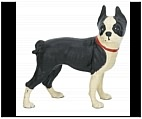 Boston Terrier Statue - Cast Iron