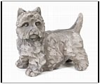 Garden West Highland Terrier Statue