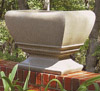 Zen Concrete Planter with Pedestal