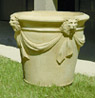 Lion Head Swag Planter- Grande
