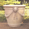Lion Head Swag Planter- Medium