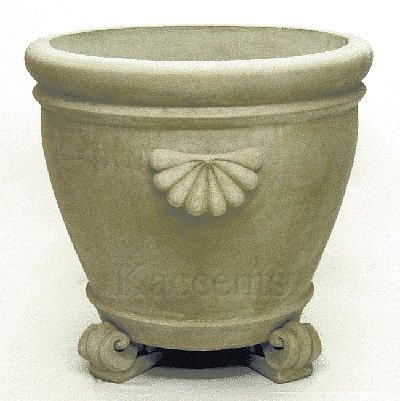 Large Garden Patio Planter With Scroll Feet