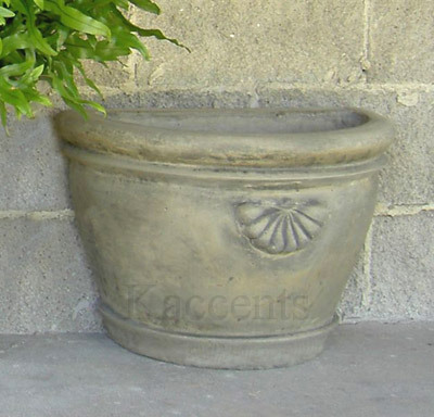 Chateau Half Planter, Small