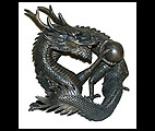 Bronze Oriental Dragon