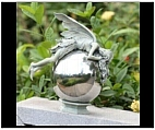 Garden Fairy Finial Sculpture II