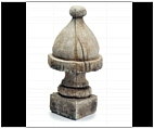 Garden English Quaint Finial - Cast Stone