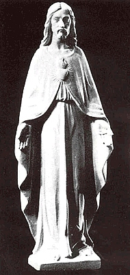 Sacred Heart of Jesus Statue with Open Arms