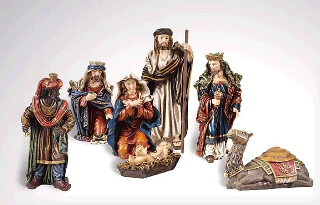 "Nativity Set - Scaled for 20""H"