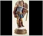 Saint Michael the Archangel Statue with Sword
