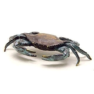 Blue Point Crab Sculpture