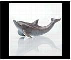 Dolphin Desk Figurine