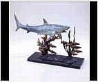 Shark Sculpture on Base