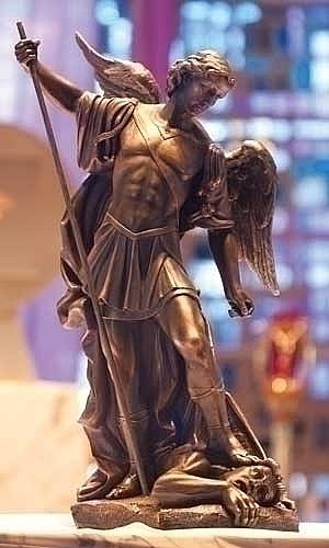 Large Majestic Saint Michael Statue