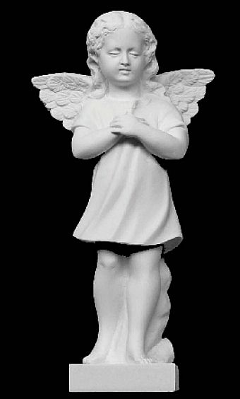 "Angel Girl with Hands Clasped - 12""H"