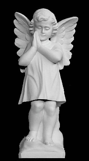 "Praying Angel Sculpture - 12""H"