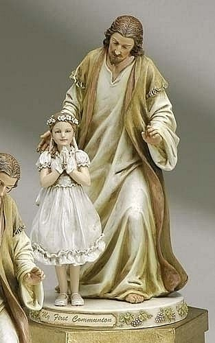 Jesus with Communion Girl