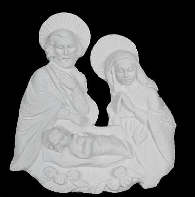 Holy Family Wall Sculpture