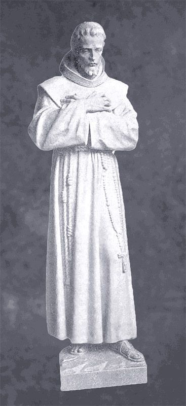 Saint Francis Contemplates in Marble