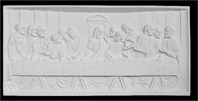 The Last Supper Plaque in Traditional
