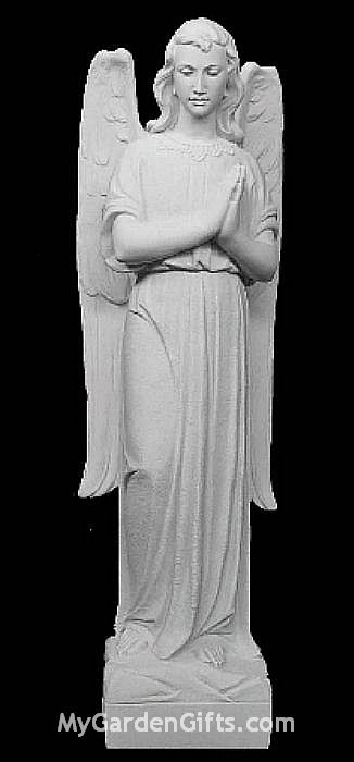 Memorial Praying Angel 35""