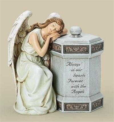 Always in our Hearts Angel Memorial Box
