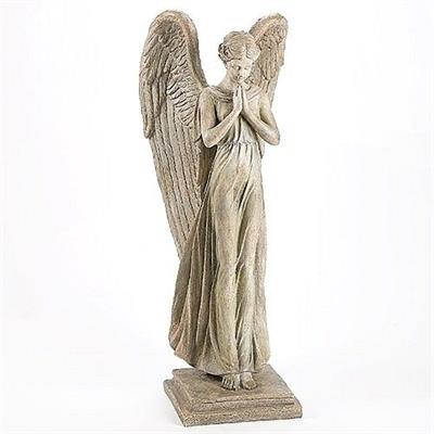 Graceful Angel in Prayer - Large