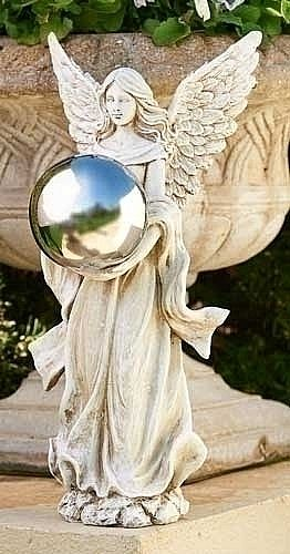 Angel with Gazing Ball