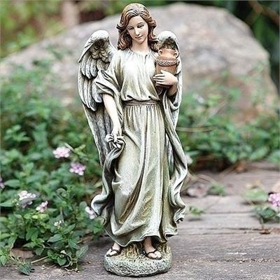 Angel with Urn Statue