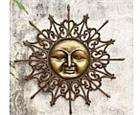 Radiant Sun Wall Plaque