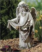 One of our Darling Angel Girl Statues for the Garden.