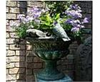 Doves of Peace Bronze Planter