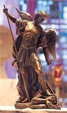 Large Majestic Saint Michael Statue