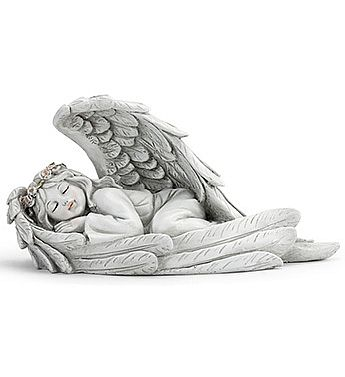 Sleeping Angel Girl Sculpture