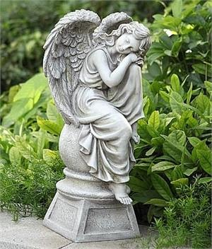 Angel Girl Finial