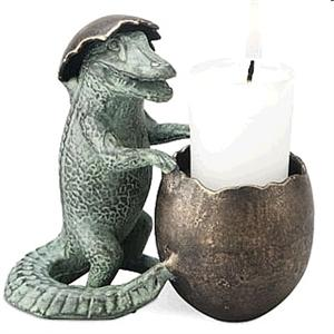 Little Alligator Candle Holder