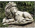 The Lion and the Lamb Sculpture