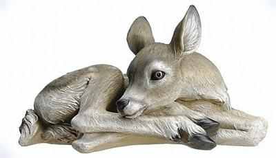 Lying Down Deer Figurine