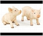 Adorable Pink Pig Statues